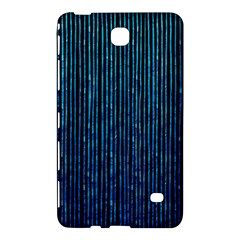Stylish Abstract Blue Strips Samsung Galaxy Tab 4 (8 ) Hardshell Case  by gatterwe