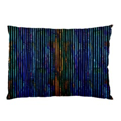 Stylish Colorful Strips Pillow Case (two Sides) by gatterwe