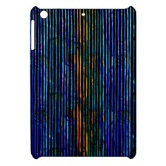 Stylish Colorful Strips Apple Ipad Mini Hardshell Case by gatterwe