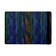Stylish Colorful Strips Ipad Mini 2 Flip Cases by gatterwe