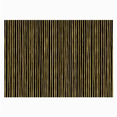 Stylish Golden Strips Large Glasses Cloth (2 Side) by gatterwe