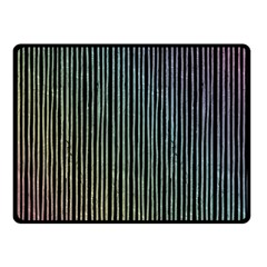 Stylish Rainbow Strips Fleece Blanket (small) by gatterwe