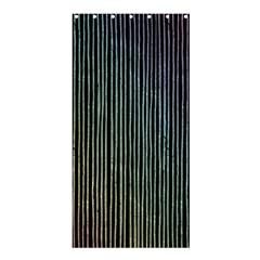 Stylish Rainbow Strips Shower Curtain 36  X 72  (stall)