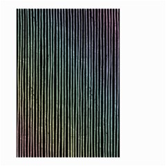 Stylish Rainbow Strips Small Garden Flag (two Sides) by gatterwe