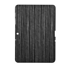 Stylish Silver Strips Samsung Galaxy Tab 2 (10 1 ) P5100 Hardshell Case  by gatterwe