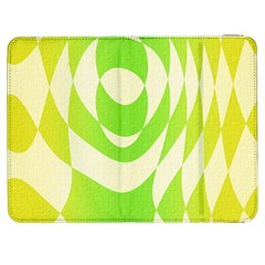 Green Shapes Canvas                        Htc One M7 Hardshell Case by LalyLauraFLM