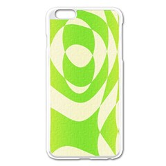 Green Shapes Canvas                        Apple Iphone 6/6s Leather Folio Case by LalyLauraFLM