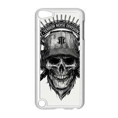Skull Helmet Drawing Apple Ipod Touch 5 Case (white) by amphoto