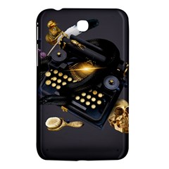 Typewriter Skull Witch Snake  Samsung Galaxy Tab 3 (7 ) P3200 Hardshell Case  by amphoto