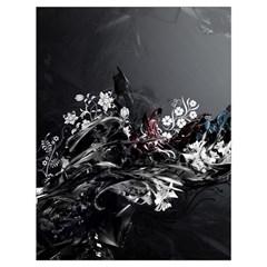 Shape Pattern Light Color Line  Drawstring Bag (large) by amphoto