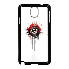 Red White Black Figure  Samsung Galaxy Note 3 Neo Hardshell Case (black) by amphoto