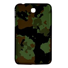 Military Background Texture Surface  Samsung Galaxy Tab 3 (7 ) P3200 Hardshell Case  by amphoto