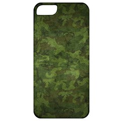 Military Background Spots Texture  Apple Iphone 5 Classic Hardshell Case by amphoto