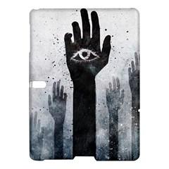 Hand Eye Vector  Samsung Galaxy Tab S (10 5 ) Hardshell Case  by amphoto