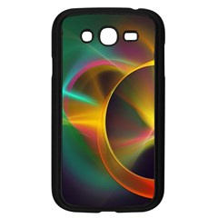 Light Color Line Smoke Samsung Galaxy Grand Duos I9082 Case (black) by amphoto