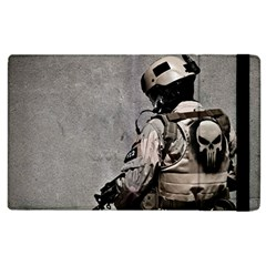 Cool Military Military Soldiers Punisher Sniper Apple Ipad 2 Flip Case by amphoto