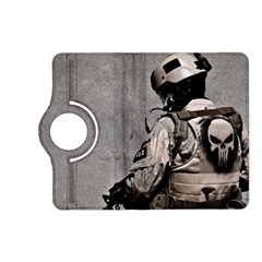 Cool Military Military Soldiers Punisher Sniper Kindle Fire Hd (2013) Flip 360 Case by amphoto