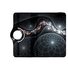Black Gray White Shape Pattern  Kindle Fire Hdx 8 9  Flip 360 Case by amphoto