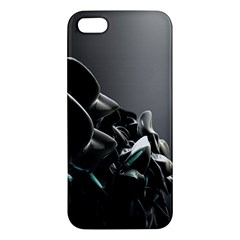 Black White Figure Form  Iphone 5s/ Se Premium Hardshell Case by amphoto