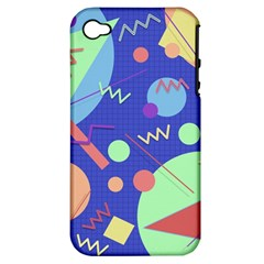 Memphis #42 Apple Iphone 4/4s Hardshell Case (pc+silicone) by RockettGraphics