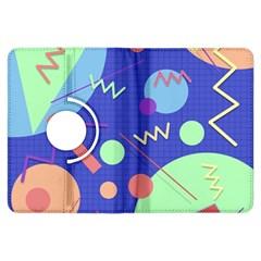 Memphis #42 Kindle Fire Hdx Flip 360 Case by RockettGraphics