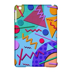 Memphis #10 Apple Ipad Mini Hardshell Case (compatible With Smart Cover) by RockettGraphics