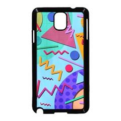 Memphis #10 Samsung Galaxy Note 3 Neo Hardshell Case (black) by RockettGraphics
