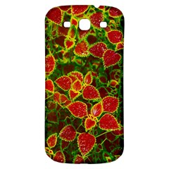 Flower Red Nature Garden Natural Samsung Galaxy S3 S Iii Classic Hardshell Back Case by Nexatart