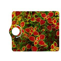 Flower Red Nature Garden Natural Kindle Fire Hdx 8 9  Flip 360 Case by Nexatart