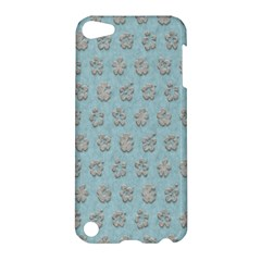 Texture Background Beige Grey Blue Apple Ipod Touch 5 Hardshell Case