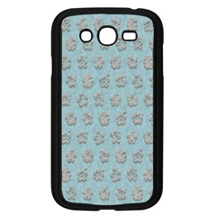 Texture Background Beige Grey Blue Samsung Galaxy Grand Duos I9082 Case (black) by Nexatart