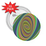 Ellipse Background Elliptical 2.25  Buttons (10 pack)