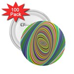 Ellipse Background Elliptical 2.25  Buttons (100 pack)