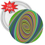 Ellipse Background Elliptical 3  Buttons (100 pack)