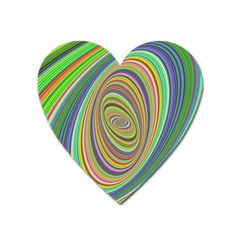 Ellipse Background Elliptical Heart Magnet by Nexatart