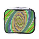 Ellipse Background Elliptical Mini Toiletries Bags
