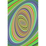 Ellipse Background Elliptical 5.5  x 8.5  Notebooks
