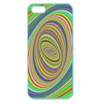 Ellipse Background Elliptical Apple Seamless iPhone 5 Case (Color)