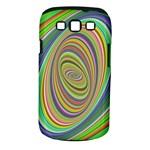 Ellipse Background Elliptical Samsung Galaxy S III Classic Hardshell Case (PC+Silicone)