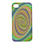 Ellipse Background Elliptical Apple iPhone 4/4S Hardshell Case with Stand