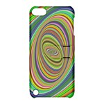 Ellipse Background Elliptical Apple iPod Touch 5 Hardshell Case with Stand