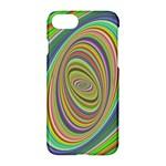 Ellipse Background Elliptical Apple iPhone 7 Hardshell Case