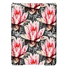 Water Lily Background Pattern Ipad Air Hardshell Cases