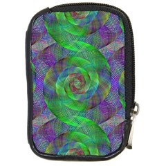 Fractal Spiral Swirl Pattern Compact Camera Cases by Nexatart