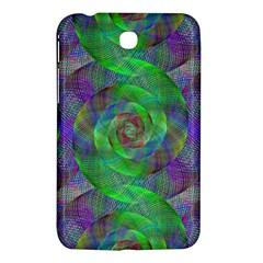 Fractal Spiral Swirl Pattern Samsung Galaxy Tab 3 (7 ) P3200 Hardshell Case  by Nexatart