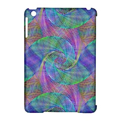Spiral Pattern Swirl Pattern Apple Ipad Mini Hardshell Case (compatible With Smart Cover) by Nexatart