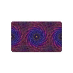 Pattern Seamless Repeat Spiral Magnet (name Card) by Nexatart