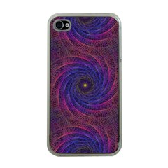 Pattern Seamless Repeat Spiral Apple Iphone 4 Case (clear) by Nexatart