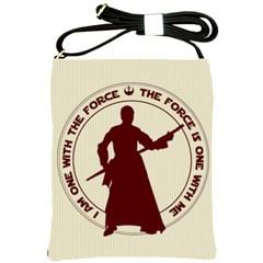 Force Shoulder Sling Bag by mundanemagicco