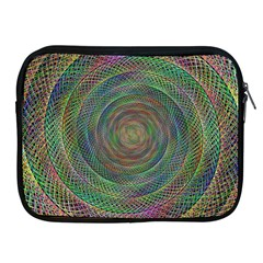 Spiral Spin Background Artwork Apple Ipad 2/3/4 Zipper Cases by Nexatart